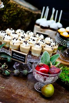 shotglass desserts