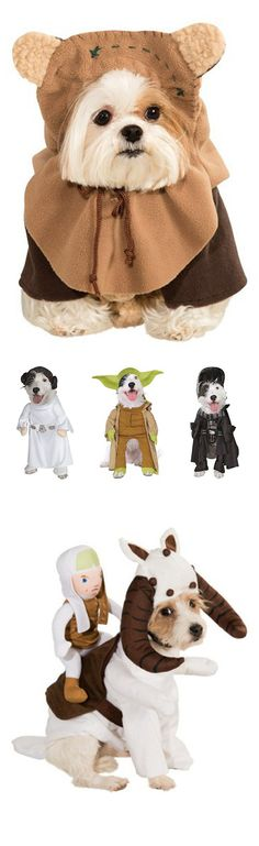 {Star Wars Dog Costumes} *How cute is this Ewok?!?!