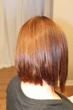 Medium Asymmetrical Textured Haircut