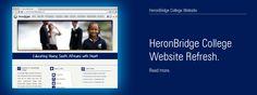 HeronBridge College Website