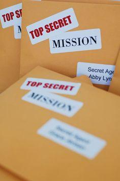 Activity Days Secret service mission