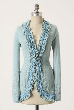 Curlytop Cardigan by Guinevere.