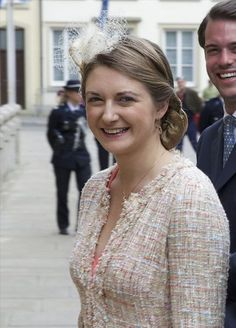 Hereditary Grand Duchess Stéphanie, at the Octave of Our Lady of Luxembourg