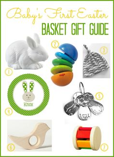 Baby's First Easter Basket Gift Ideas #Easter