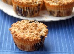 Begin the day with a light and luscious low fat lemon blueberry oatmeal muffin - just 4 WWPP! http://simple-nourished-living.com/2013/07/low-fat-lemon-blueberry-oatmeal-muffins-recipe/