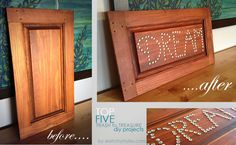 Top Five Trash-to-Treasure DIY Projects by sketchystyles.com