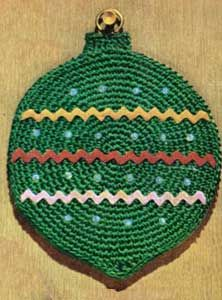 Free Crochet Patterns Christmas Potholders : CHRISTMAS POTHOLDER CROCHET PATTERNS FREE CROCHET PATTERNS