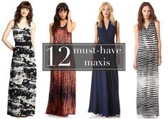 The Maxi Dresses You'll Want to Live In for the Rest of the Summer