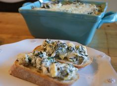 spinach and artichoke dip...think i might make this one.