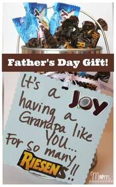 A simple & sweet gift idea for Father's Day via momendeavors.com