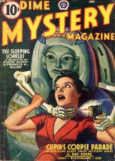Dime Mystery Magazine.