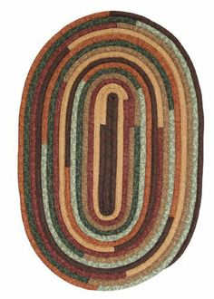 Colonial Mills Quilter's Choice QC02 Forest 2' x 12' Oval by Colonial Mills. $149.00. A braid called fabricord shows a unique texture in this oval cotton blend rug. The hearty colors create a depth and sense of comfort that would warm any living area or bedroom.