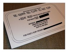 A bachelorette party invitation for a Stevie Nicks themed bachelorette party! Fun, fun, fun!
