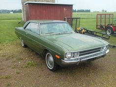 1972 dodge dart swinger - $4100
