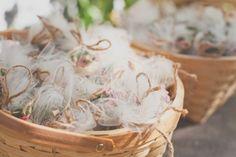mini terrarium kit #favors wrapped in tulle - photo http://www.hazelwoodphotoblohttp://ruffledblog.com/nostalgic-los-angeles-wedding/g.com/ - view more from this #wedding