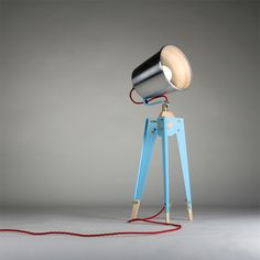 frank table lamp by oliver hrubiak.