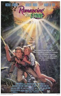 Romancing the Stone  Poster 3/10  Film 10/10