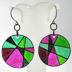 shrinky earrings
