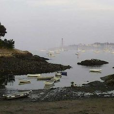 Marblehead MA - Fort Beach  Rob and I lived about 10 houses down from this little beach cove.