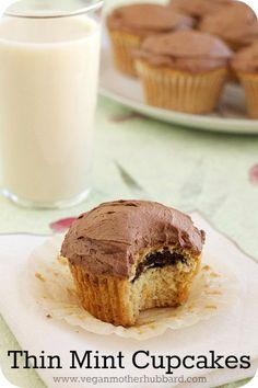 Thin Mint Cupcakes | The NY Melrose Family