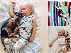 Puppy love: Boy, dog take snuggly naps together #Socute #OMG #todayshow #puppy