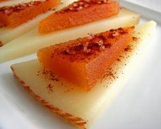 // membrillo (quince paste)