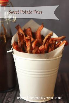 Easy chili sweet potato fries - gluten-free, grain-free, dairy-free