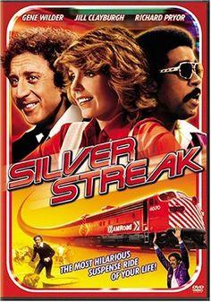 film, gene wilder, silver streak, richard pryor, streak 1976, silverstreak, poster, train, favorit movi