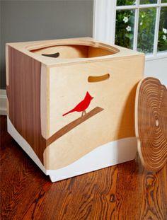Customized Toy Box by Mod Box #munire #pinparty #MadeinUSA