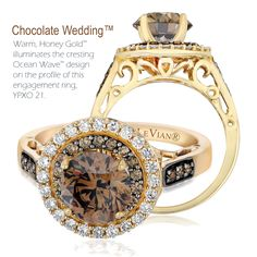 HONEY DO  Metals will shift to more colorful hues in 2013 including the sweeter, more radiant and warmer tone of Honey Gold™, Le Vian's latest proprietary flavor of yellow gold.