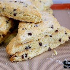 "Grandma Johnson's Scones | ""A basic scone recipe that really does the trick. Tried and tested through 3 generations of kids. Simply the best anywhere!"""