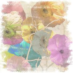 Gallery Direct Fine Art Prints: Poppy Dreams Ii by Sia Aryai