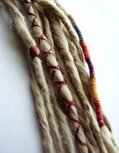 Wraps & Beads Bohemian hair!