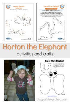 Horton the Elephant - Activities and Crafts
