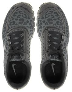 I NEEEEEEED these! Nike Free Running 5.0 V4 Grey Leopard Performance Trainers,$46.99