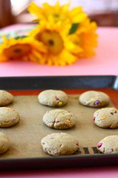 Sunflower butter cookies!