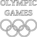 olympic games coloring page
