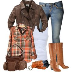 Awesome fall outfit. If only I had a million dollars