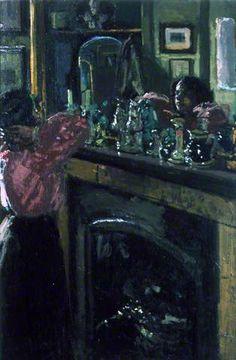 The Mantelpiece by Walter Richard Sickert