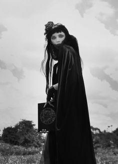 - editorial, avant garde, chic, fashion, costume #halloween