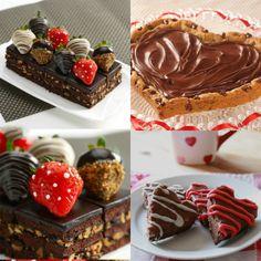 dolce di cioccolato per San Valentino-Valentine's Day