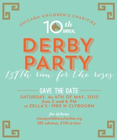 Another Derby invite I'm in love with.