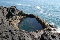 Brimketill lavarock formation