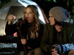 Hanna and Caleb from Pretty Little Liars