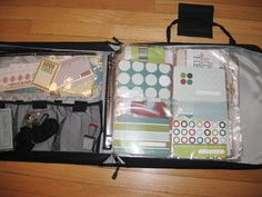 All-in-one organization for Project Life supplies