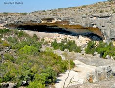 Seminole Canyon State Park Fate Bell Shelter