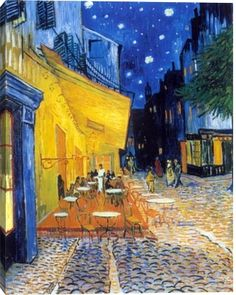 Gallery Direct Fine Art Prints: Cafe Terrace At Night by Vincent Van Gogh