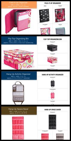 Product cards for new Thirty-One Gifts items www.mythirtyone.com/Lindamora