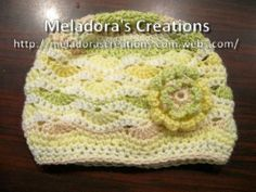 Wavy Stitch Beanie - Crochet Tutorial & Pattern - Meladora's Creations