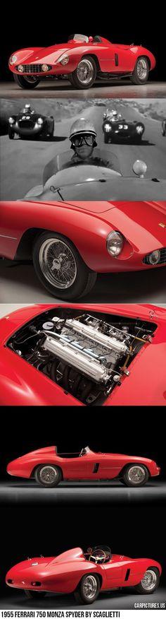 1955 Ferrari 750 Monza Spyder by Scagliett